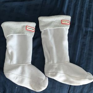 Hunter Boot Socks- youth XL, will fit adult 4-6